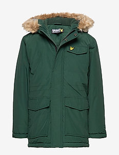 Micro Fleece Parka Jacket - parkas - pine grove