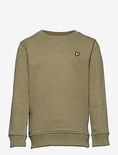 Classic Crew Neck LB - sweatshirts - oil green