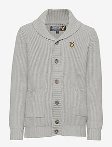 Shawl Collar Cardigan - VINTAGE GREY HEATHER