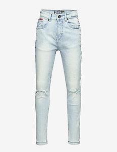 Dark Wash Denim Jeans - ACID BLUE WASH