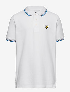 Tipped Polo Shirt Bright White - polo shirts - bright white
