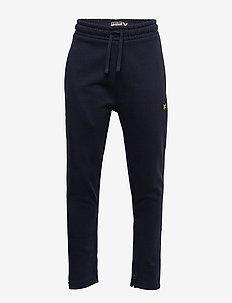 Zip Skinny Jogger Black - spodnie dresowe - navy blazer