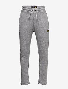 Zip Skinny Jogger Black - joggings - vintage grey heather