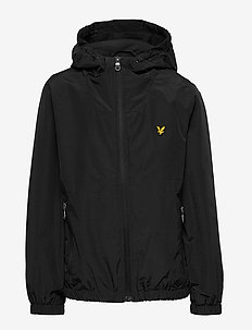 Panel Windcheater Black - windbreaker - black