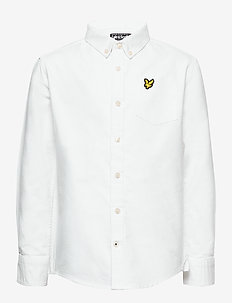 Oxford Long Sleeve Shirt Bright White - shirts - bright white