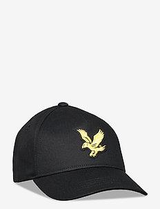 Eagle Cap Black - caps - black