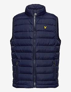 Lightweight Gilet Navy Blazer - vests - navy blazer