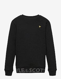Bottom Branded LB Crew Neck - sweatshirts - black