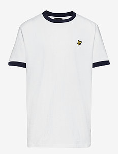 Ringer T Shirt - À manches courtes - bright white
