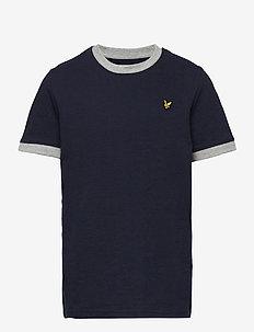 Ringer T Shirt - À manches courtes - navy blazer