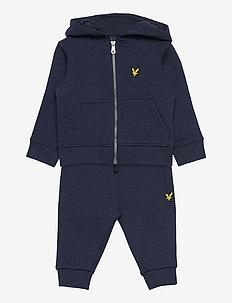 LB Zip Hood and Sweat Jog Set - jeu de 2 pièces - navy blazer