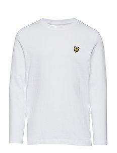 Classic L/S T-Shirt - langærmede t-shirts - bright white