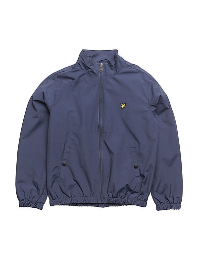 Zip Through With Funnel Neck Jacket - NAVY