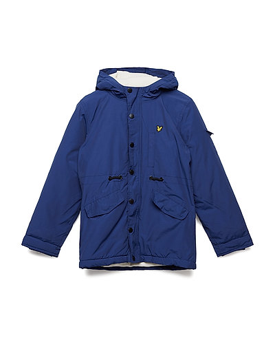 Winter Weight Microfleece Parka - TWILIGHT BLUE