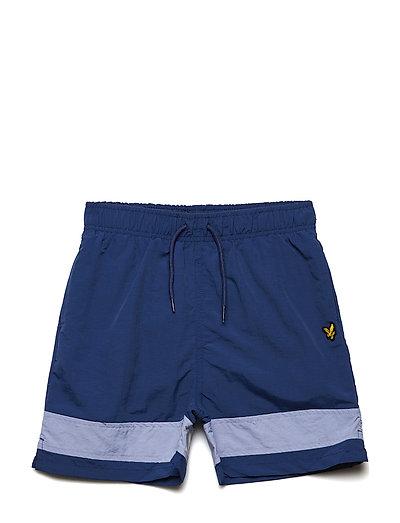 Swimshort with Back Print - TWILIGHT BLUE