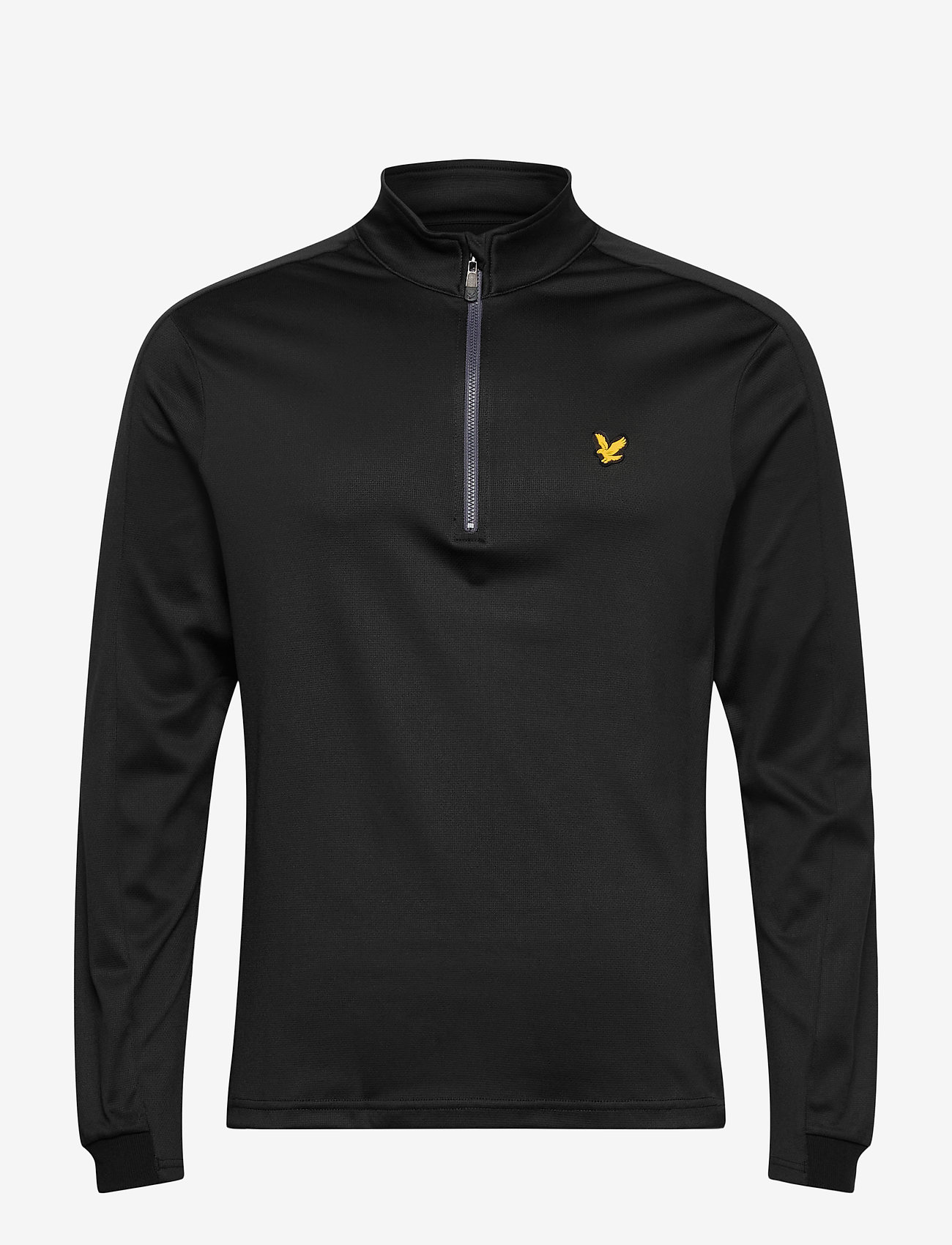 Lyle & Scott Sport - Ventech Golf Midlayer - basic-sweatshirts - true black marl - 0