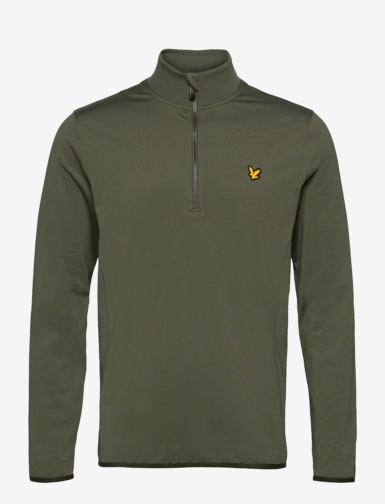 Lyle & Scott Sport - Tech 1/4 Zip Midlayer - basic-sweatshirts - cactus green - 0