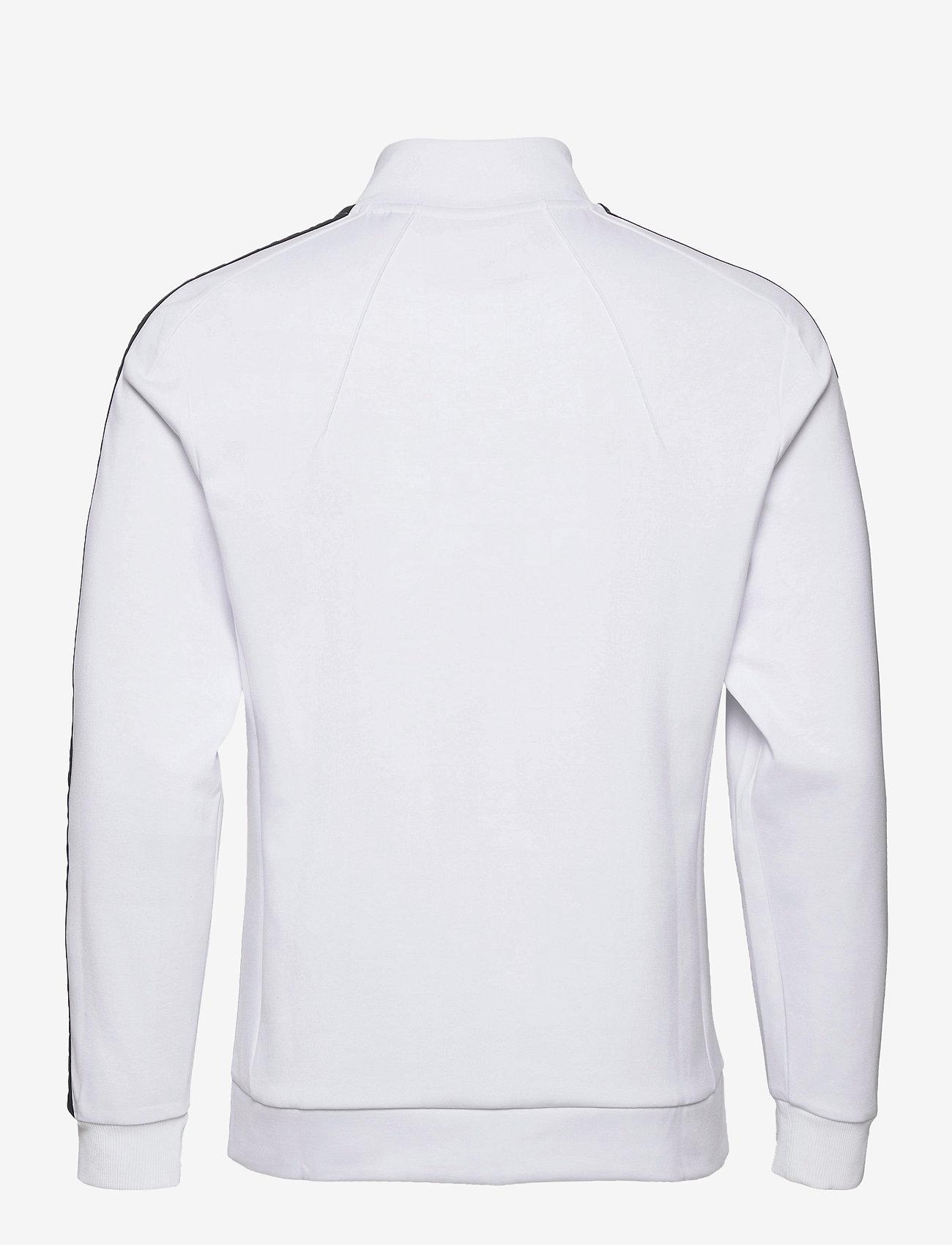Lyle & Scott Sport - Sleeve Tape Full Zip Midlayer - basic-sweatshirts - white - 1