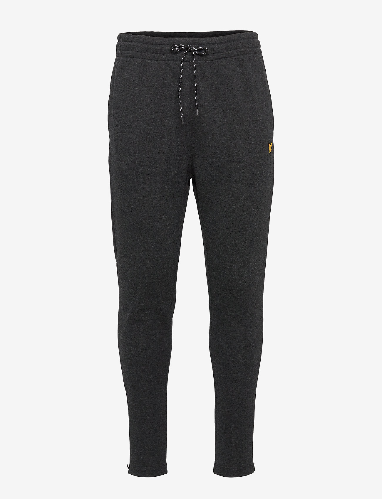 Lyle & Scott Sport - Core Zip Track Pants - pants - true black marl - 0