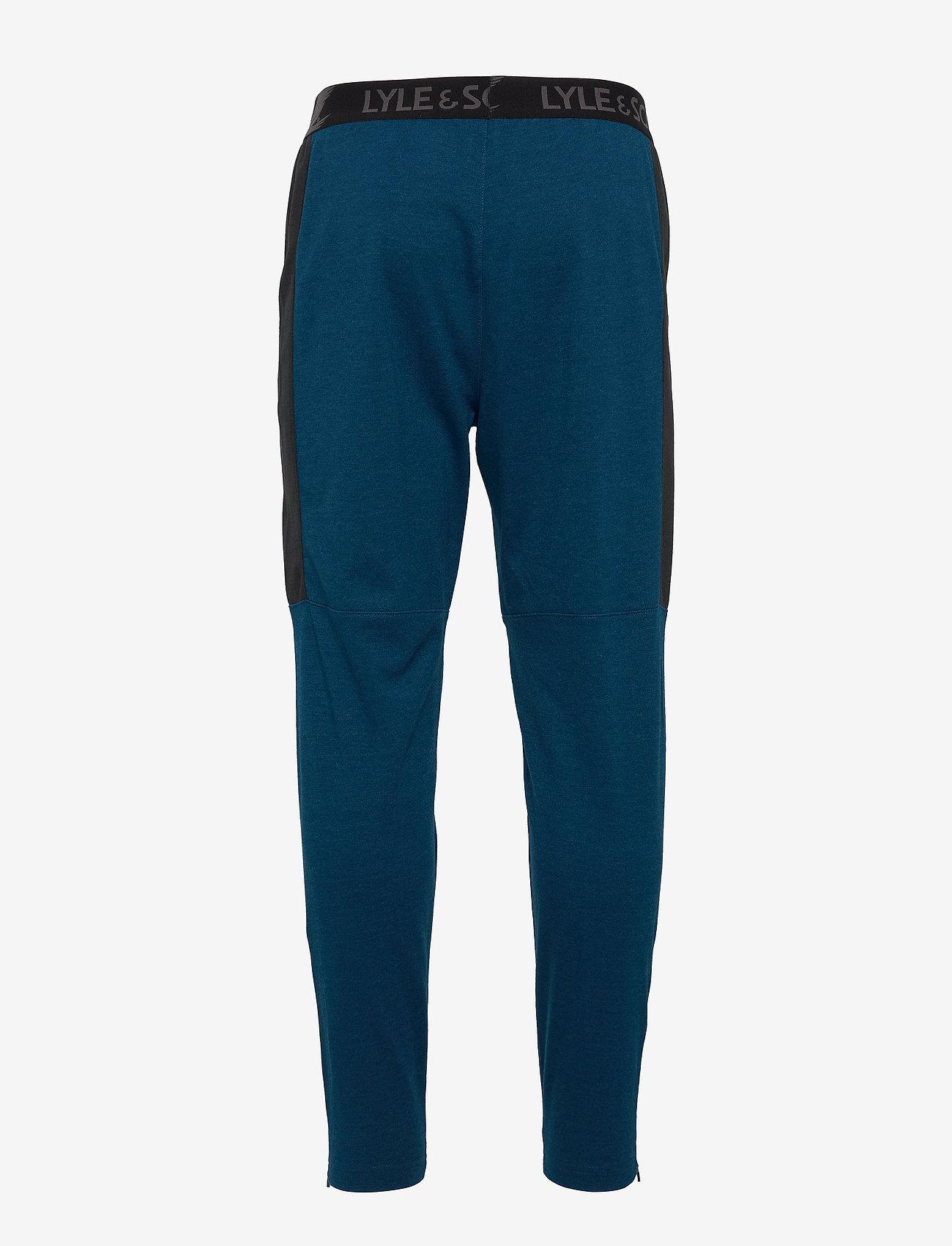 Lyle & Scott Sport - Colour Breaker Track Pants - pants - deep fjord marl - 1