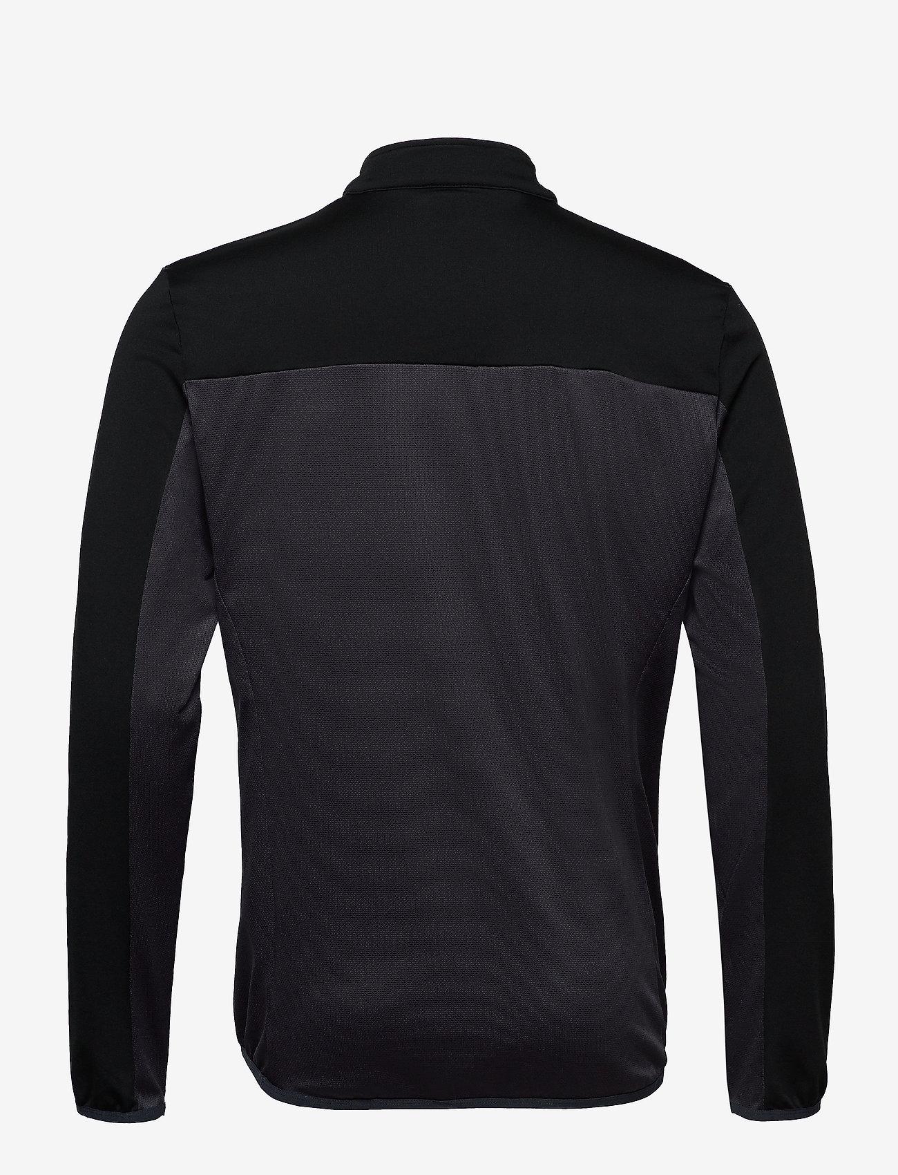 Ventech Colour Block Midlayer (Graphite Marl) - Lyle & Scott Sport b1rpfP
