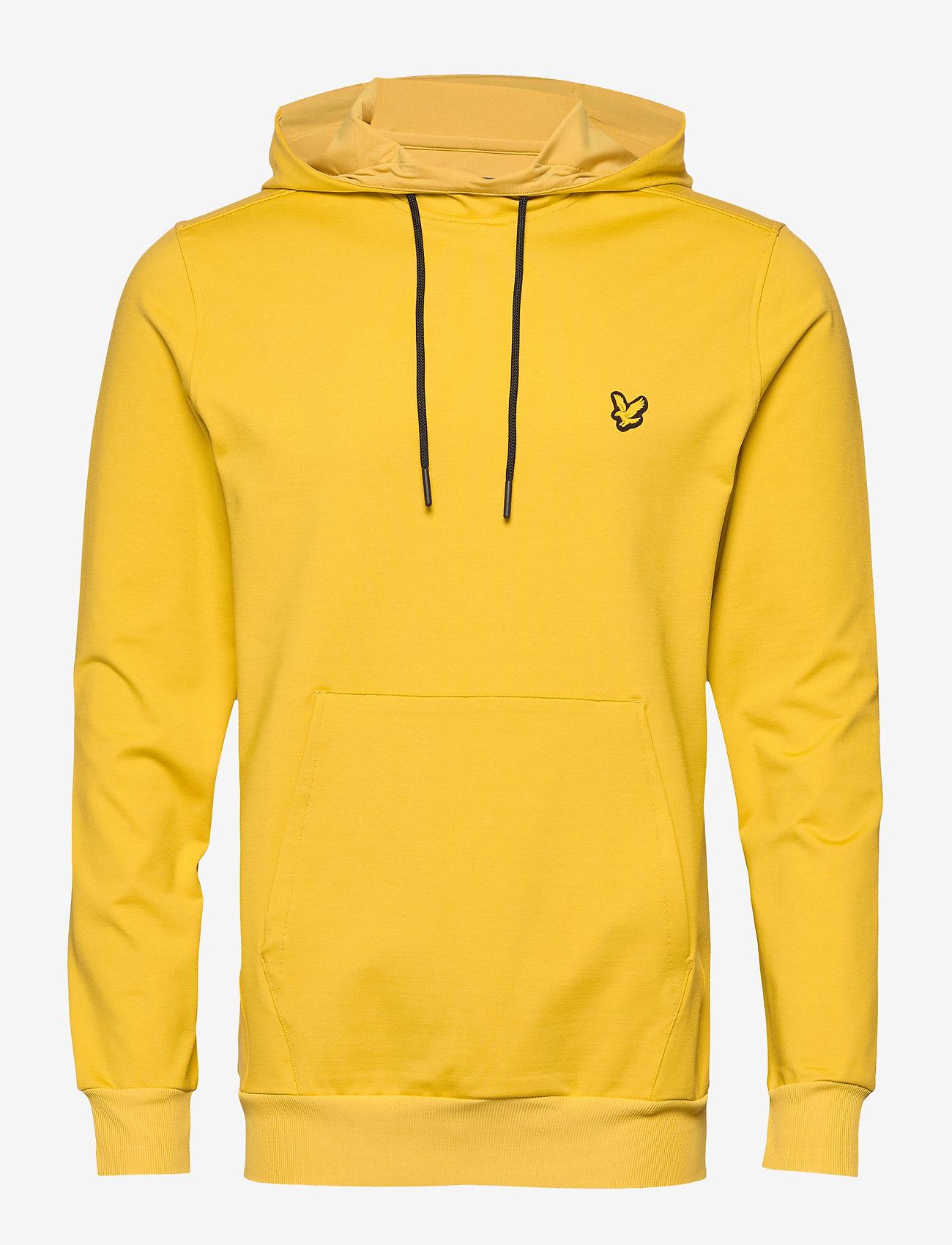 Lyle & Scott Sport - Superwick OTH Midlayer - basic sweatshirts - burnt yellow - 0