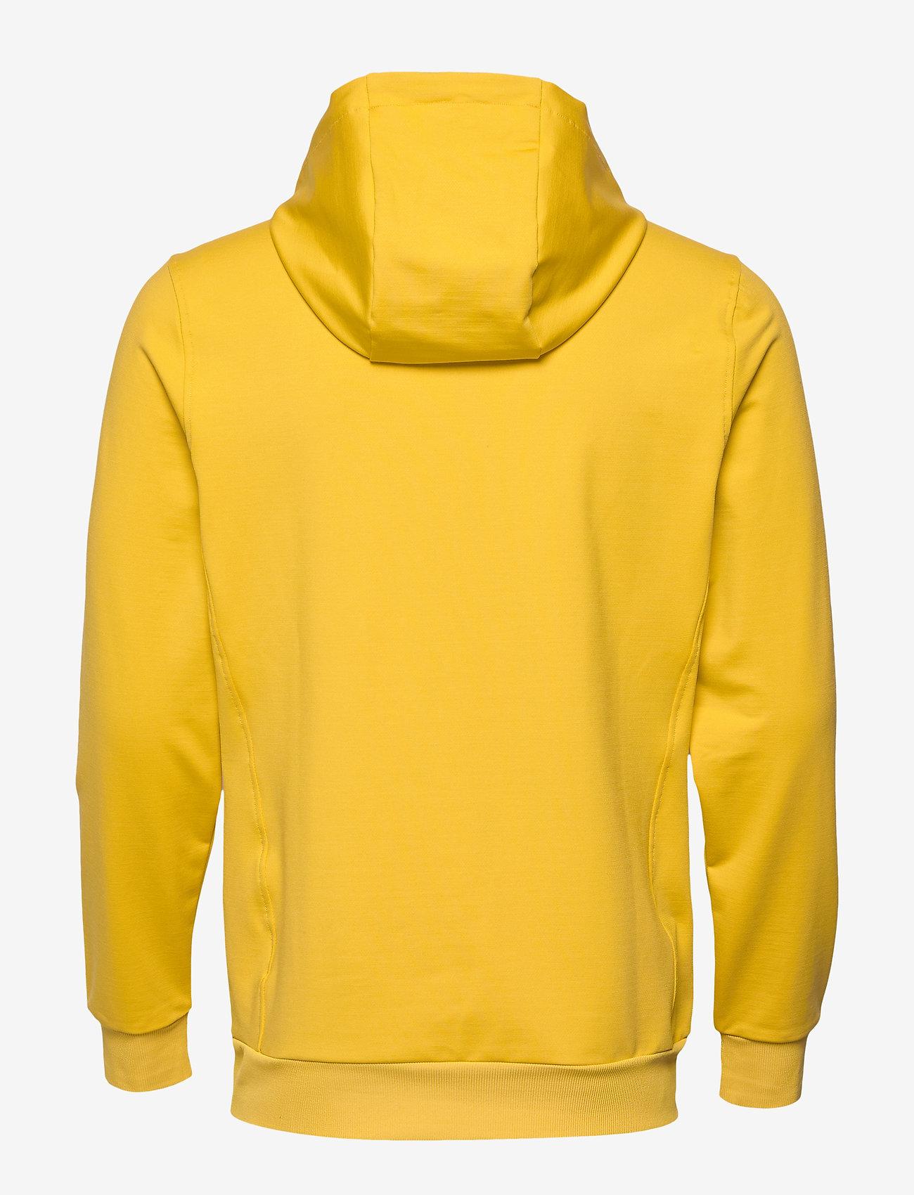 Lyle & Scott Sport - Superwick OTH Midlayer - basic sweatshirts - burnt yellow - 1
