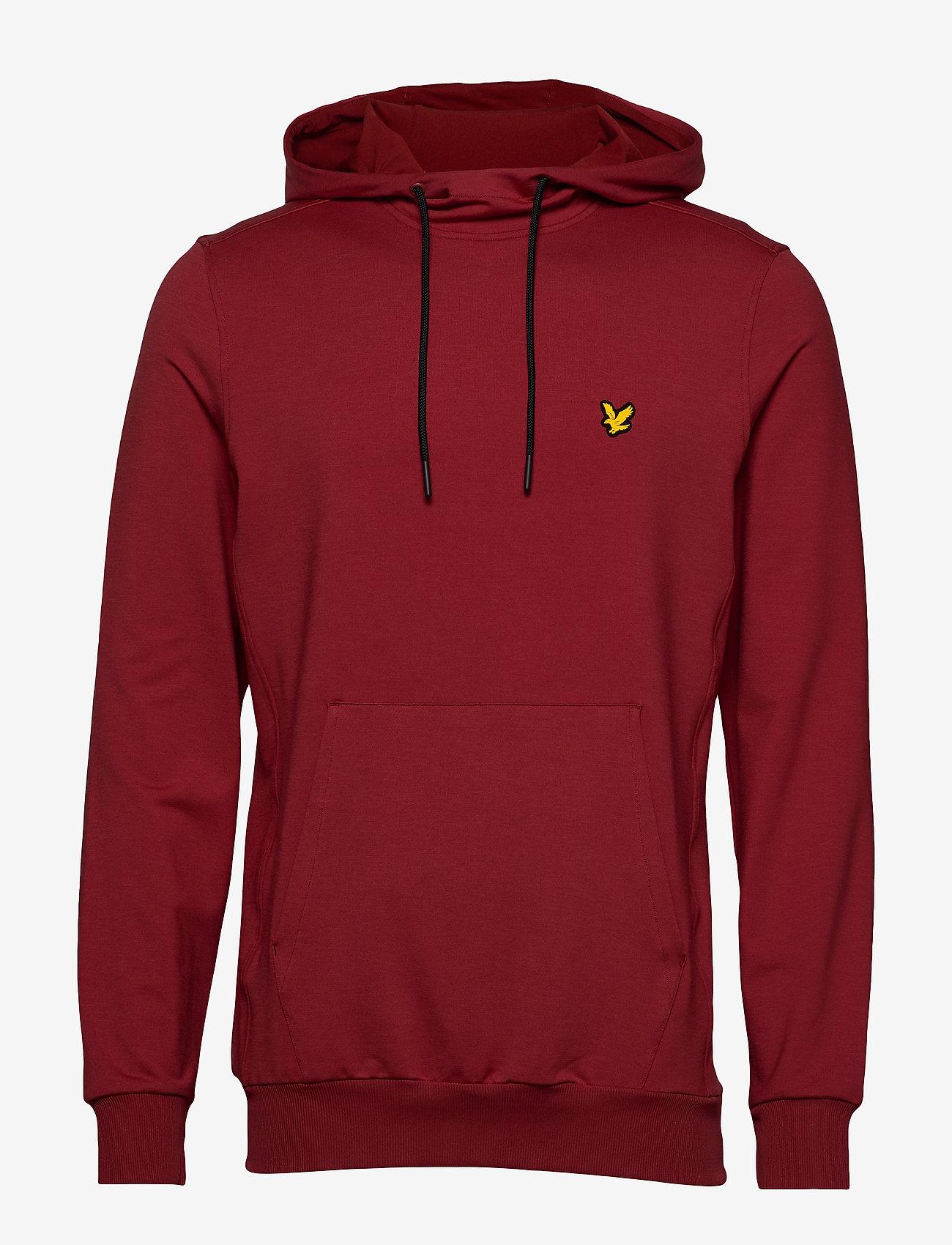 Lyle & Scott Sport - Superwick OTH Midlayer - basic sweatshirts - turbo red - 0