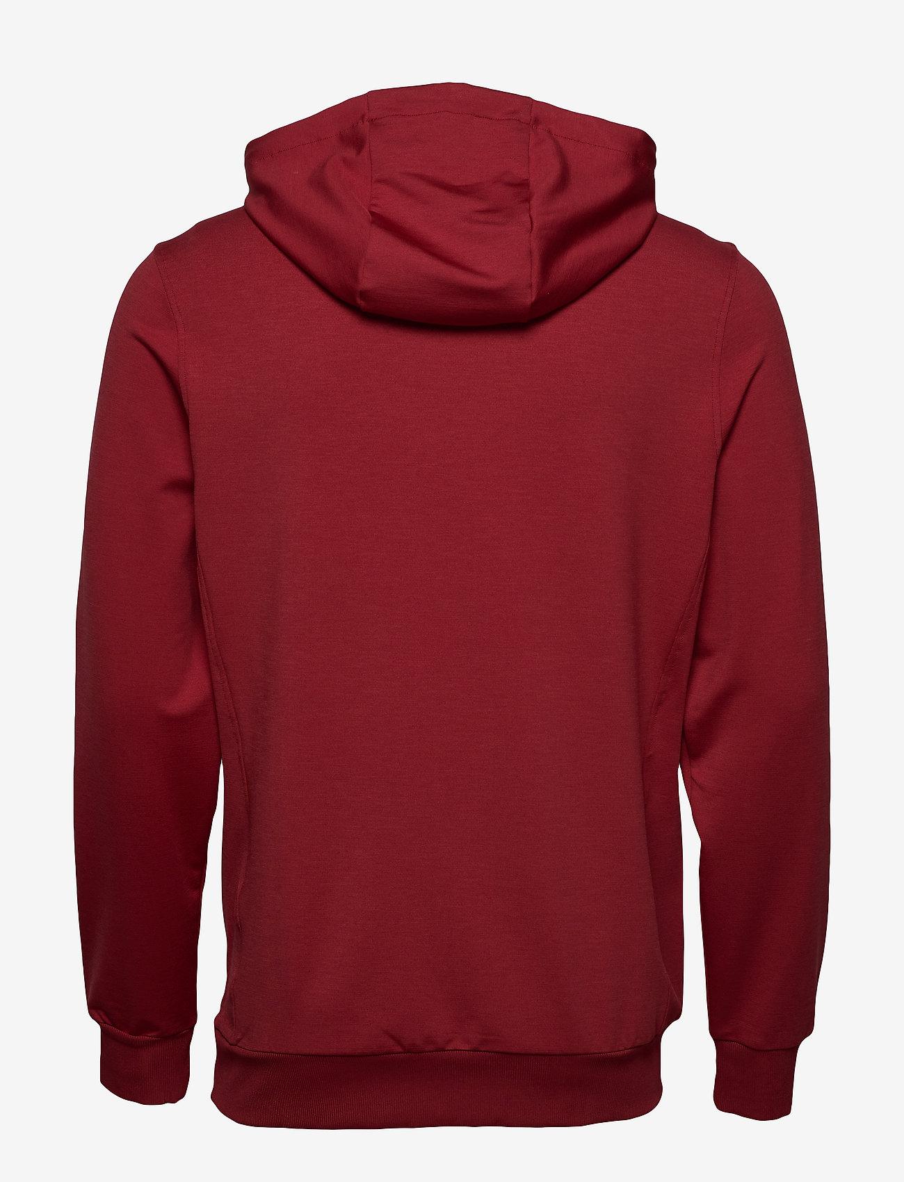 Lyle & Scott Sport - Superwick OTH Midlayer - basic sweatshirts - turbo red - 1