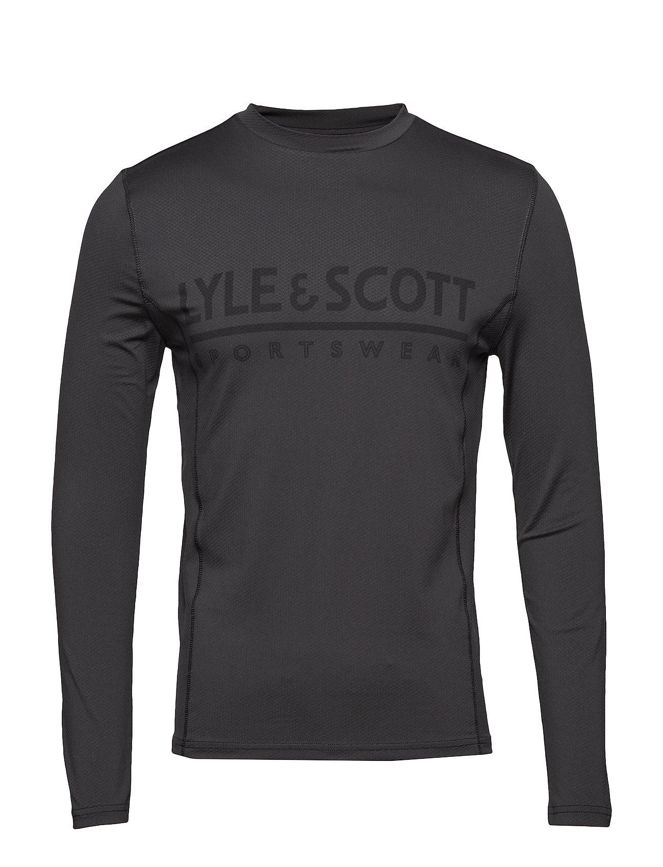 Image of Base Layer Base Layer Tops Long-sleeved Sort LYLE & SCOTT SPORT (3174661293)