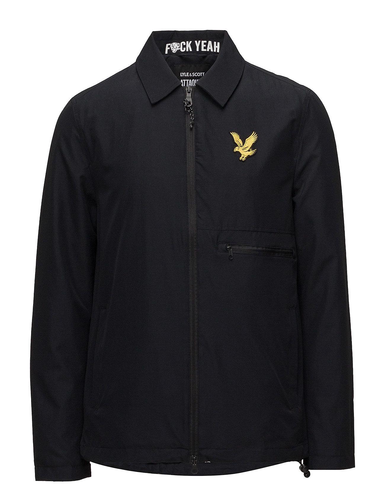 Lyle & Scott Sport Attaquer Jacket - TRUE BLACK