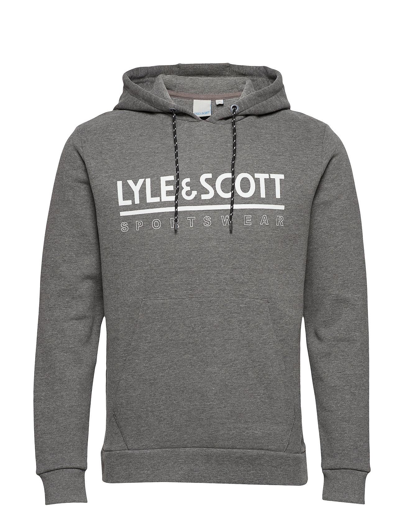 Lyle & Scott Sport Logo OTH Midlayer - MID GREY MARL