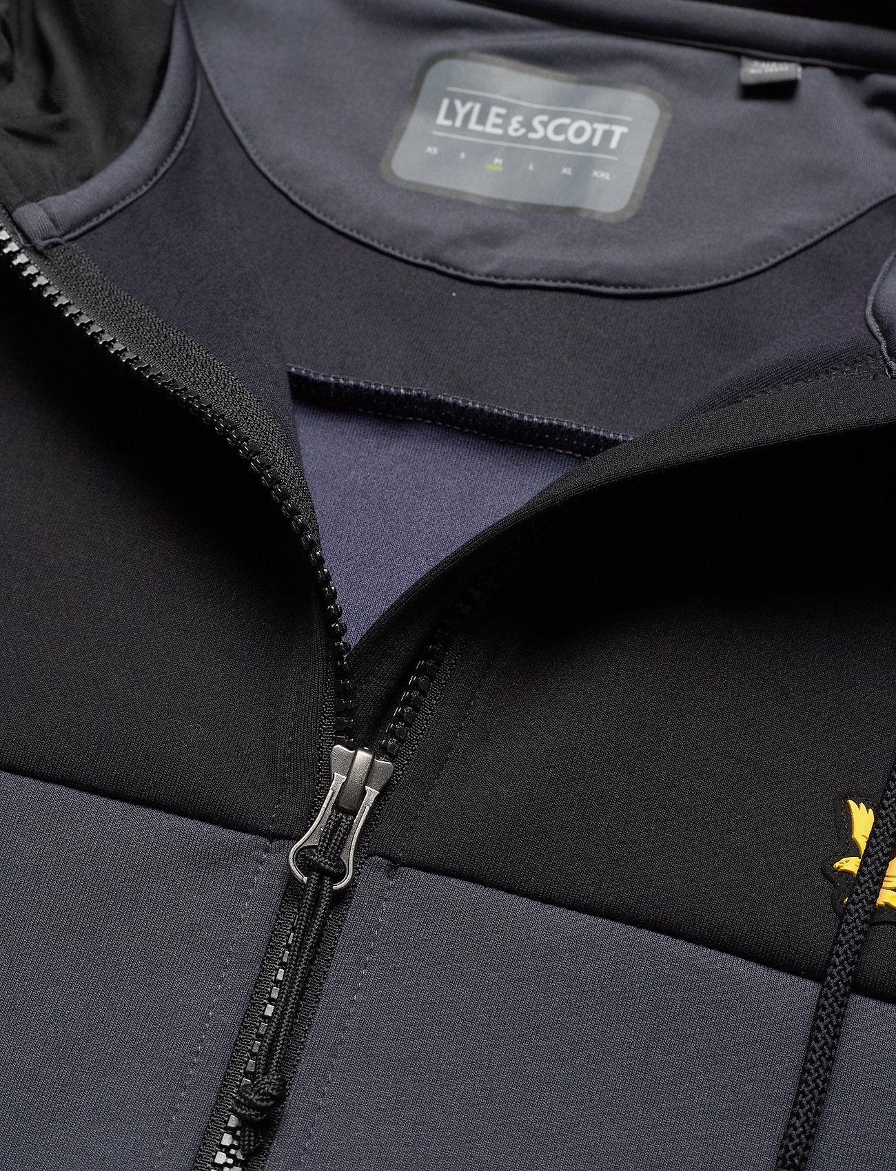 Lyle & Scott Sport Full-Zip Colour Breaker Tech Fleece - Jakker og frakker OBSERVER GREY - Menn Klær
