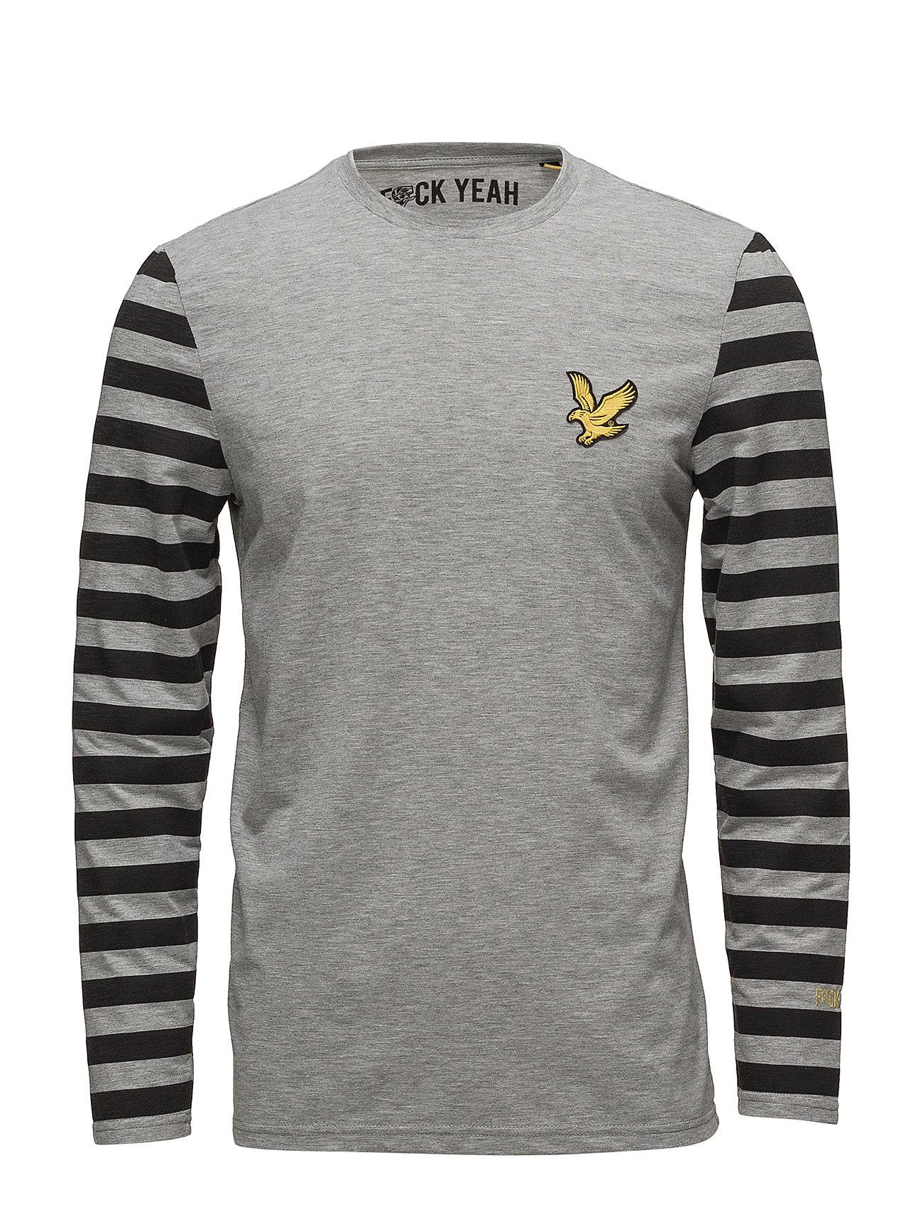 Attaquer Ls T Shirt (Mid Grey Marl) (£27) - Lyle   Scott Sport ... de5f528e2a5fc