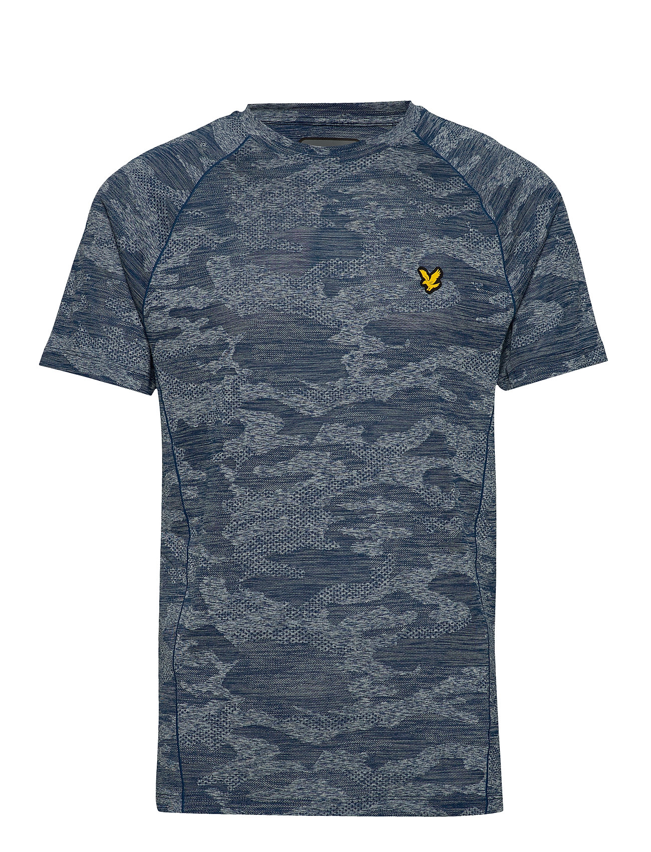 Image of Camo Sports Tee T-shirt Blå Lyle & Scott Sport (3326812135)