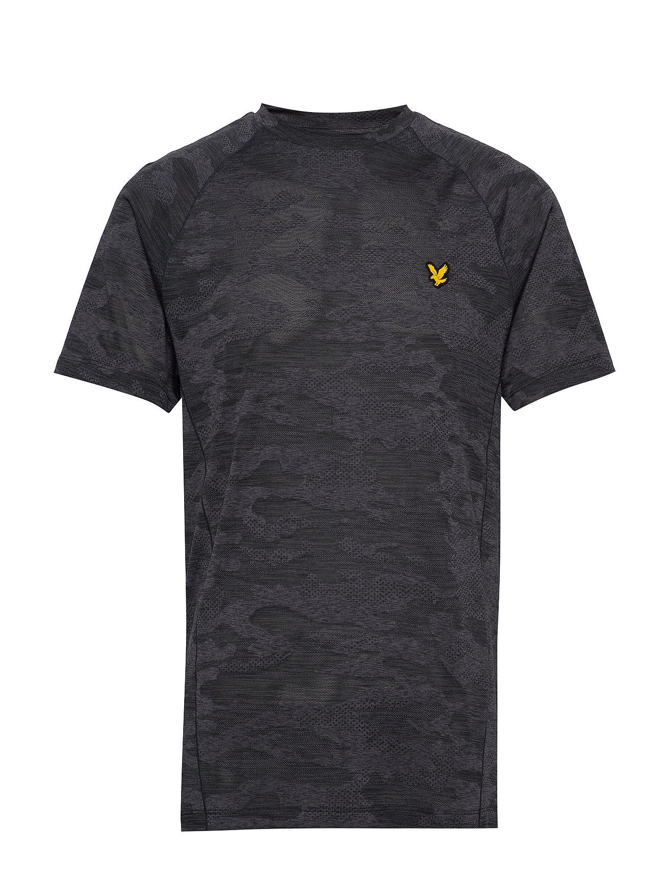 Image of Camo Sports Tee T-shirt Grå Lyle & Scott Sport (3360120589)