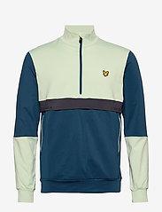 Lyle & Scott Sport - Tech Track 1/2 Zip - track jackets - deep fjord - 0