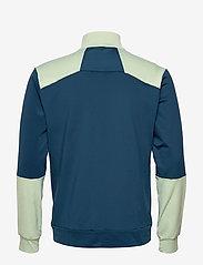 Lyle & Scott Sport - Tech Track 1/2 Zip - track jackets - deep fjord - 1