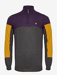 Lyle & Scott Sport - Moffat 1/4 Zip Pullover - half zip - observer grey - 0