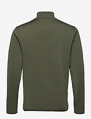 Lyle & Scott Sport - Tech 1/4 Zip Midlayer - basic-sweatshirts - cactus green - 1