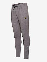 Lyle & Scott Sport - Fly Fleece Trackies - spodnie treningowe - mid grey marl - 2