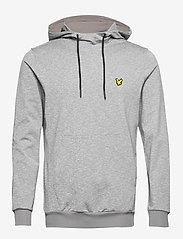 Lyle & Scott Sport - Superwick OTH Midlayer - basic sweatshirts - mid grey marl - 0