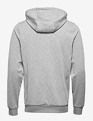 Lyle & Scott Sport - Superwick Full Zip Midlayer - basic sweatshirts - mid grey marl - 1