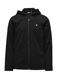 Bennett Hooded running Jacket - TRUE BLACK