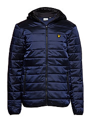 Cooke Jacket : Insulated Foil Jacket with Hood - NAVY