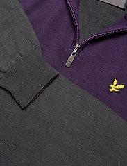 Lyle & Scott Sport - Moffat 1/4 Zip Pullover - half zip - observer grey - 2