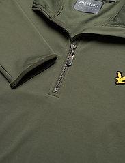 Lyle & Scott Sport - Tech 1/4 Zip Midlayer - basic-sweatshirts - cactus green - 2