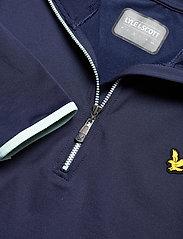 Lyle & Scott Sport - Tech 1/4 Zip Midlayer - fleece - navy - 2
