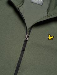 Lyle & Scott Sport - Sleeve Tape Full Zip Midlayer - basic-sweatshirts - cactus green - 4