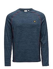 Jenkins LS Training T-shirt - PETROL GREY